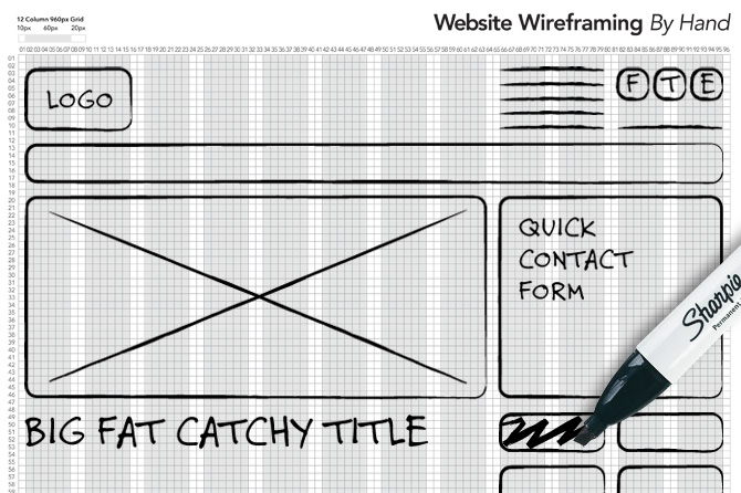 Website-Wireframe-by-Hand-side-side-creative