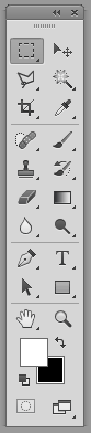 Toolbar hay Tool panel